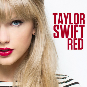 image of the new Taylor Swift album Red